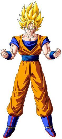 Dragon Ball Super Saiyan of Son Goku for Wallpaper