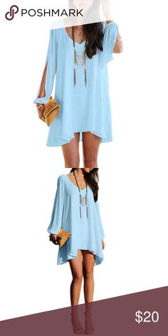 Cute summer dress Aqua blue cute & classy dress Dresses