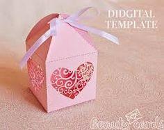 Image result for diy wedding favor boxes templates