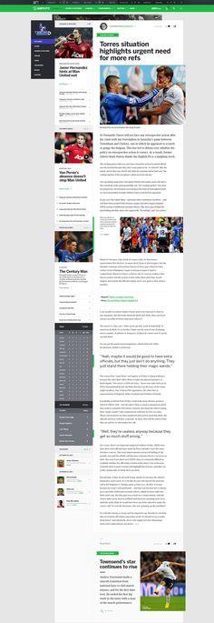 ESPNFC - Article Layout
