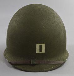 Military Headgear: U.S. Army Captain's M-1 Helmet, WWII