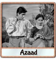 Dilip Kumar and Meena Kumari in Azaad Bollywood Posters, Bollywood Actors, Vintage Bollywood, Indian Bollywood, Pakistani, Karaoke Tracks, Film World, Lata Mangeshkar, Star Cast