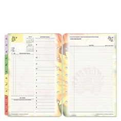 Blooms Ring-bound Daily Planner