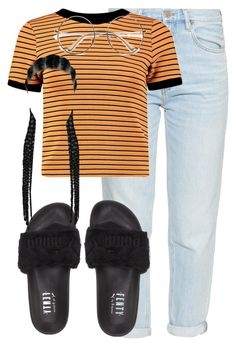 """"" by thetruthdoesnothavetohurt ❤ liked on Polyvore featuring M.i.h Jeans and Puma"