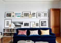 Shelf Life - Home Tour: A Sophisticated New York City Apartment by Fawn Galli - Photos
