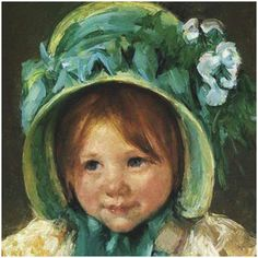 Would you like to be able to paint portraits of your favorite people? You can teach yourself how, at home, in whatever time you have to spare. Just follow these free online demonstrations by talented portrait artists to learn their tips and techniques. ( Painting: Mary Cassatt, Art.com )