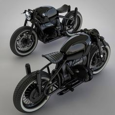 Custom BMW Motorcycle Concepts by Ziggy Moto Moto Scrambler, Moto Bike, Moto Guzzi, Bobber Motorcycle, R Cafe, Cafe Bike, Bmw Cafe Racer, Concept Motorcycles, Cool Motorcycles