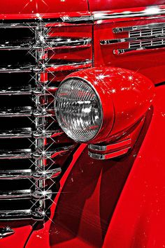 Classic Red Car