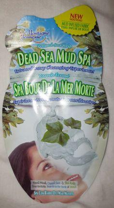 Beyond Blush: Montagne Jeunesse Dead Sea Mud Spa Face Masque #MJPeelOffs #contest