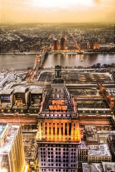View from Carew Tower, Cincinnati by spudart, via Flickr