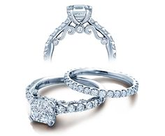INSIGNIA-7001 engagement ring from The Insignia Collection of diamond engagement rings by Verragio