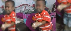 Mancera pide a la PGJDF investigue caso de maltrato infantil por niño atado con cinta canela: Su mamá subió la foto a Facebook   DF