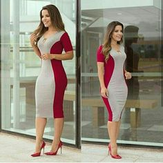 Corporate attire for Women Tight Dresses, Casual Dresses, Girls Dresses, Corporate Attire Women, Simple Gowns, Dress Outfits, Fashion Outfits, African Fashion Dresses, Office Outfits