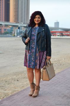 Weesha's World » Love Yourself through Thick and Thin » Asos Curve Swing Dress