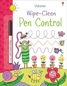 #wipeclean #pencontrol #activities #usborne #learning #childrensbooks