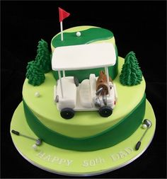 golf cake from flickr