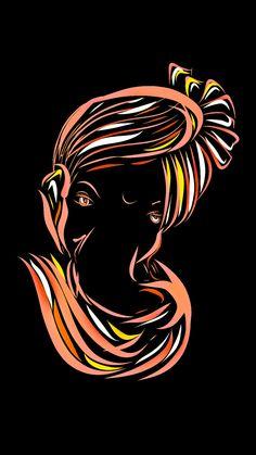 Lord ganesha ultra HD wallpapers for mobile and PC background Ganesha Drawing, Lord Ganesha Paintings, Lord Shiva Painting, Ganesha Art, Ganpati Drawing, Shri Ganesh Images, Hanuman Images, Ganesha Pictures, Happy Ganesh Chaturthi Images