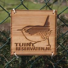 Vivara Natuurbeschermingsproducten>Bordje Tuinreservaten
