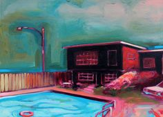"Saatchi Online Artist Ian Mclean; Painting, ""A Concern For Safety"" #art"
