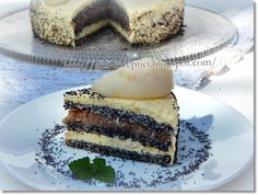 Hungarian Cake, Hungarian Recipes, Torte Cake, Cakes And More, Tiramisu, Cheesecake, Goodies, Candy, Vegan