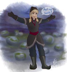 Genderbent Frozen! (part 1/4) | Art: juliajm15