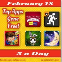 Some great free fun and educational apps to keep the kids entertained over the mid-term break with a top math app adventure game - Operation...