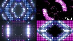 Led Flare - VJ Loops Pack (5 in 1) Pack of 5 full HD looped footages for your…
