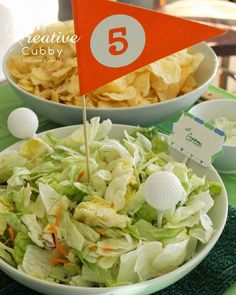 The Creative Cubby: Adult Golf Party