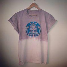 Starbucks Ariel: The Little Mermaid Mocha Dip Dye by LunaAndBob