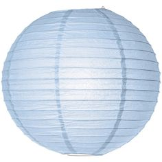 Paper Lantern (10-Inch, Light Blue) - Rice Paper Chinese/Japanese... ($1.09) ❤ liked on Polyvore featuring decor and fillers