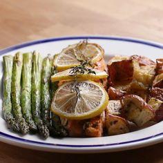 Easy Salmon Dinner by Tasty