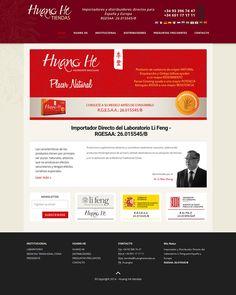 Sitio web Huang He tiendas - Diseño y Desarrollo: http://integralmedia.com.ar