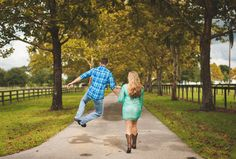 Jump! For my love! #engagementphotography #gainesvilleweddings  Photo By C Hill Photography