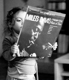 Taste starts young #milesdavis