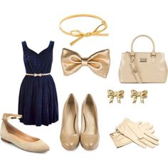 """""""Bows Outfit"""" by thebeautypoison on Polyvore"""