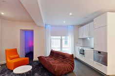 Go Native Hyde Park London - the living room of a classic 1-bedroom serviced apartment.