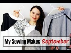 My September sewing makes 2018 Alisa Shay Sewing Patterns Free, Free Sewing, Free Pattern, Sewing School, Tunic Pattern, Ufo, September, How To Make