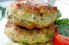 Hearty and healthy cutlets from zucchini / Health Alphabet Supper Recipes, Healthy Dinner Recipes, Appetizer Recipes, Vegetarian Recipes, Cooking Recipes, Vegetable Dishes, Vegetable Recipes, Russian Recipes, Main Meals