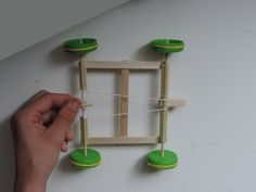 How To Make A Rubber Band Powered Car Out Of Popsicle Sticks - YouTube