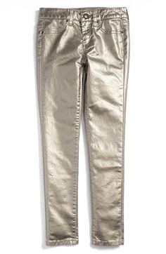 Metallic skinny jeans   Joe's Foil Skinny Jeans (Big Girls)   Nordstrom