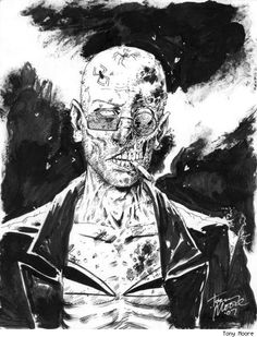 Zombie Spider Jerusalem by Tony Moore.