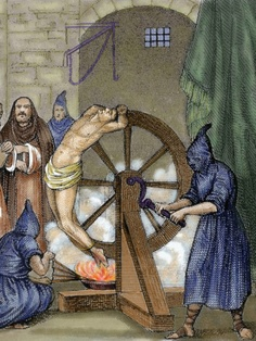Inquisition- torture wheel of fortune