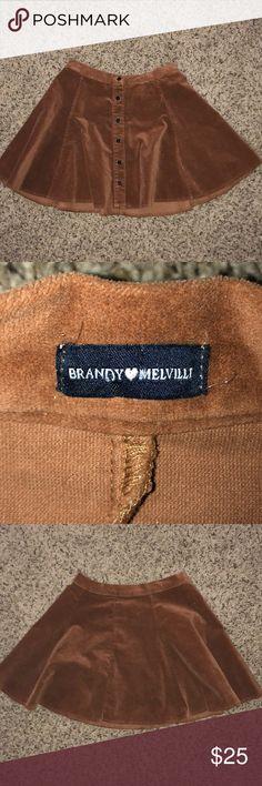 Brandy Melville skirt Never worn but super cute with no holes or stains Brandy Melville Skirts
