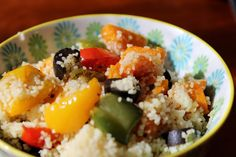 One Mother Hen: Roasted pumpkin and capsicum couscous salad Capsicum Recipes, Couscous Salad, Roast Pumpkin, Kitchen Recipes, Potato Salad, Ethnic Recipes, Food, Roasted Butternut Squash, Paprika Recipes
