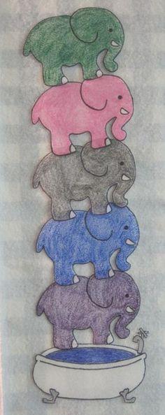 One elephant in the bathtub Going for a swim. Knock, Knock, (Clap twice with… Flannel Board Stories, Felt Board Stories, Felt Stories, Flannel Boards, Preschool Zoo Theme, Preschool Music, Preschool Crafts, Zoo Crafts, Preschool Bible