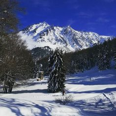 #mountains #bluesky #snow #loves_pyrenees #landscape #winter #pyrenees #hautespyrenees #cauterets #hiking #ski #splendid_mountains #trees #france #colorful #wonderfulview #instafrance #instagram #instagood #bestmountainsartists #bestshotz_france #instagramfr #landscape_captures #loves_mountains #instapirineos #loves_mountains_ by pauline_fantastic_world