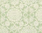 "Brunschwig and Fils ""Marquesas"" Fabric Drapery Panels"