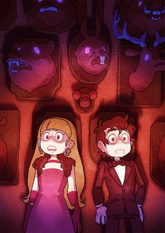 "OP: ""Probs my favorite. I had fun with the composition and lighting. Gotta love underlighting.. Actual posters are available at TheMysteryShack@Etsy"" 