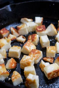 Halloumi cheese recipe
