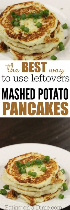 leftovers - mashed potato pancakes recipe